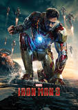 Iron Man 3 (Crouching) Movie Poster Masterprint