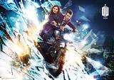 Doctor Who - Motorcycle Television Poster Masterprint