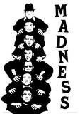 Madness - Stacked Music Poster Masterprint