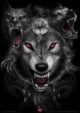 Spiral (Wolf Triad) Fantasy Poster Masterprint