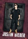 Justin Bieber (Speaker) Music Poster Masterprint