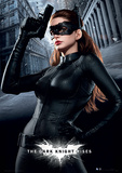 The Dark Knight Rises - Catwoman Movie Poster Print Masterprint