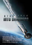 Star Trek (Into Darkness – Burning Enterprise) Movie Poster Masterdruck