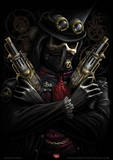 Spiral (Steampunk Bandit) Fantasy Poster Masterprint