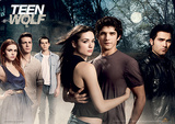 Teen Wolf (Cast) Television Poster Masterprint