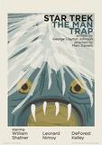 Star Trek - The Man Trap Vintage Style Television Poster Masterdruck