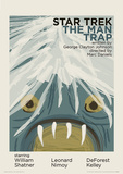 Star Trek - The Man Trap Vintage Style Television Poster Masterprint
