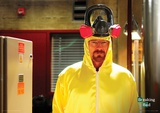Breaking Bad (Hazmat Suit) Television Poster Masterprint