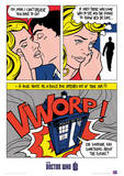 Doctor Who (Pop Art) Television Poster Masterprint