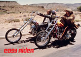 Easy Rider (Bikes) Movie Poster Masterprint