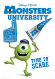 Monsters University - Time To Scare Music Poster Masterprint