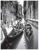 Gondola Pair, Venice Prints