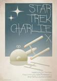 Star Trek - Charlie X Vintage Style Television Poster Masterprint