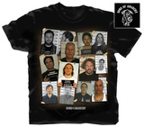 Sons of Anarchy - Group Mug Shot T-Shirt