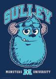 Monsters University - Sulley Music Poster Masterprint