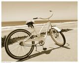 Beach Bike Posters