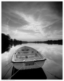 Rowboat on Summer Lake Posters