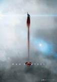 Man Of Steel (Clouds) Movie Poster Masterprint