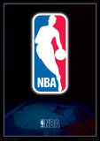NBA - Logo Basketball Sports Poster Masterprint