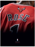 NBA - Derrick Rose Basketball Sports Poster Masterprint