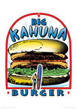 Tarantino (Big Kahuna Burger) Reservoir Dogs Fictional Advertisment Movie Poster Masterdruck