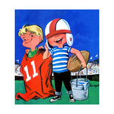 Water Boys - Jack & Jill Giclee Print by Lou Segal