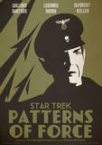 Star Trek - Patterns Of Force Vintage Style Television Poster Masterdruck