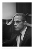 Marion S. Trikosko - Malcolm X at MLK Press Conference, Washington DC, March, 1964 Reprodukce
