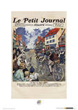 Le Tour De France (Le Petit Journal) Sports Photo Poster Masterprint