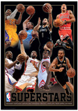 NBA - Superstars Basketball Sports Poster Masterprint