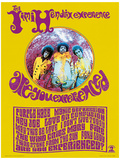 Jimi Hendrix (Are You Experienced) Music Poster Mestertrykk