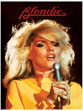 Blondie (Heart Of Glass) Music Poster Masterdruck