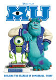 Monsters University - Scarers Of Tomorrow Music Poster Masterprint