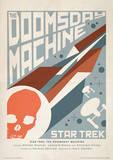 Star Trek - The Doomsday Machine Vintage Style Television Poster Masterdruck
