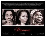 Dreamer (Trio): Peace, Power, Respect Sztuka