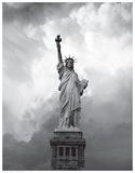 Majestic Lady Liberty Kunstdrucke