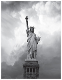 Majestic Lady Liberty Posters