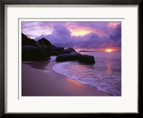 The Baths in Virgin Islands Gerahmter Fotografie-Druck von Nik Wheeler