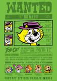 Top Cat (Wanted) Cartoon Poster Masterprint