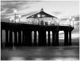 Manhattan Beach Pier II Print