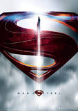 Man Of Steel (Glyph) Movie Poster Masterprint