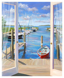 Marina Deck Art by Carol Saxe