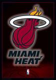 NBA - Miami Heat Logo Basketball Sports Poster Masterprint