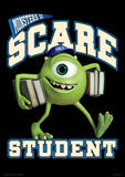 Monsters University - Scare Student Music Poster Masterprint
