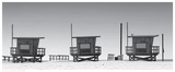 Lifeguard Shacks, Venice Beach Prints