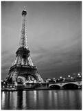 Paris Night Posters