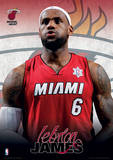 NBA - Lebron James Basketball Sports Poster Masterprint