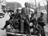 Southside Boys, Chicago, c.1941 Stampa fotografica di Russell Lee