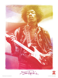Jimi Hendrix (Legend) Music Poster Stampa master