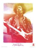 Jimi Hendrix (Legend) Music Poster Masterprint